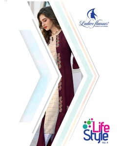 bundle of 6 fancy kurti Life Style-4 by Lf