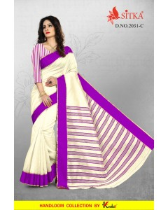 bundle of 4 saree Pochhi Silk-2031 by sitka