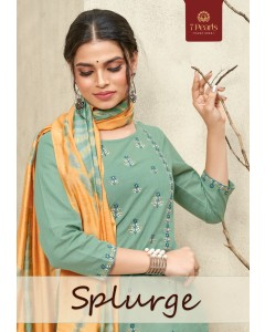 Bundle of 4 wholesale Salwar Suit Catalogue Splurge by 7 Pearls