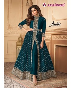 Bundle of 5 wholesale Salwar Suit Catalogue Anokhi by Aashirwad Creation