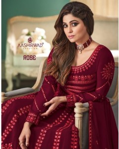Bundle of 5 wholesale Salwar Suit Catalogue Rose by Aashirwad Creation