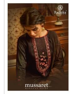 bundle of 8 wholesale salwar kameez catalogue mussaret vol 13 by azara