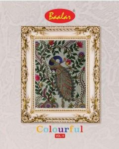 bundal of 36 wholesale salwar suit catalogue colorful patiyala vol 9 by baalar