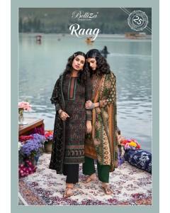 bundle of 10 wholesale salwar suits Catalog RAAG by Belliza designer studio