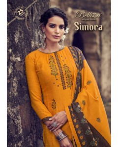 Bundle of 10 wholesale salwar suits Catalog SIMORA by BELLIZA DESIGNER STUDIO
