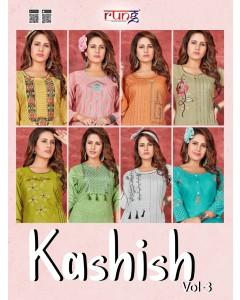 bundle of 8 kurti Kashish 3 by Rung