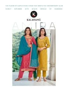 bundle of 4 salwar suit Amira by Kalarang