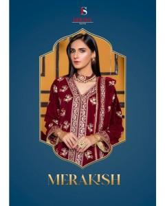 Bundle of 5 wholesale Salwar Suit catalogue Merakish by Deepsy Suit