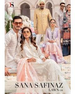 BUNDLE OF 8 WHOLESALE SALWAR SUIT CATALOG Sana Safinaz Lawn 21 Pakistani Salwar Kameez