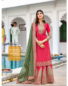 Bundle of 4 wholesale Salwar Suit Catalogue Hurma 35 Colour Edition by Eba LIfestyle