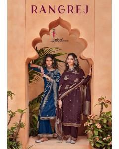 Bundle of 4 wholesale Salwar Suit Catalogue Rangrej by Eba Lifestyle