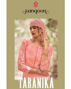 bundle of 4 dress material Rangoon Taranika