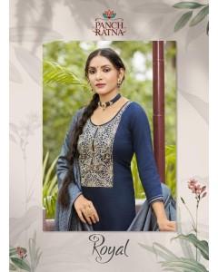 bundle of 5 salwar suit Royal by Panch Ratna