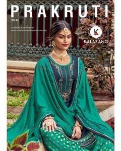 bundle of 4 dress material Prakruti 3 by Kalarang