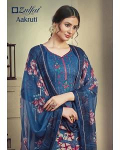 bundle of 10 dress material  Aakruti 2 by zulfat
