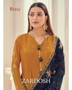Bundle of 4 wholesale salwar suit Catalogue Zardosh by Fiona