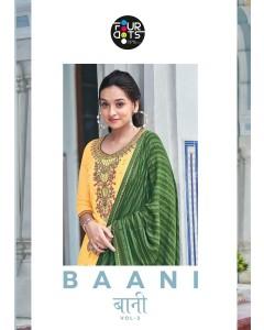 Bundle of 4 wholesale Salwar Suit Catalogue Baani Vol 3 by Four Dots