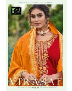 bundle Of 8 Salwar Kameez Virasat-9 by Kessi