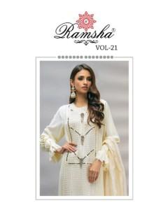 bundle of 4 pakistani suit  Ramsha R 347 To R 350