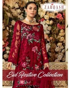 bundle of 5 pakistani suit  Zarqash Eid Festive Collection