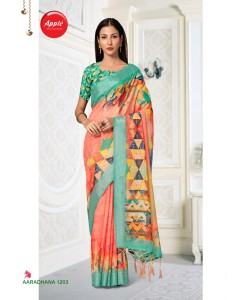 bundle of 8 saree Aaradhana 12  by Apple