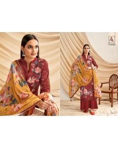 bundle of 10 dress material Alok Vaani