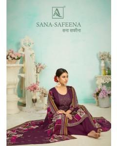 bundle of 10 dress material Sana Safeena by alok
