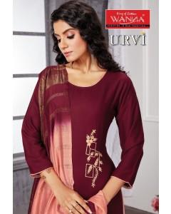 bundle of 8 readymade salwar suit Urvi by Wanna