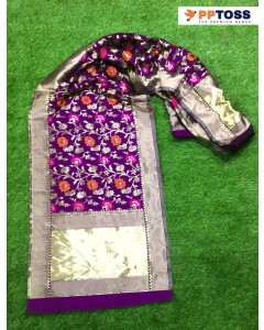 jumble of 5 duptta PPTOSS Banarasi Silk Dupatta 3