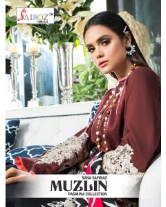 bundle of 2 pakistani suit Sana Safinaz Muzlin by Sairoz