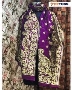 jumble of 6 dupatta PPTOSS Banarasi Silk Dupatta 4