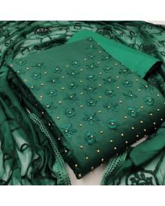 jumble of 4 dress material TCNX Slub Cotton 5