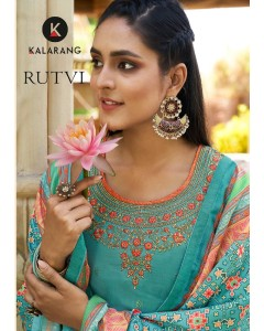 bundle of 8 dress material Rutvi by Kalarang