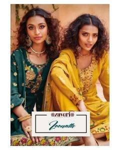 bundle of 6 salwar kameez - Zeenat by Zaveri