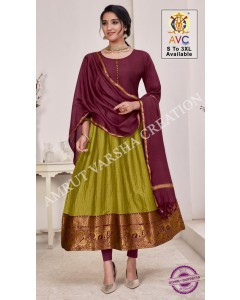 bundle of 8 kurtis - Rani Patthu by AVC