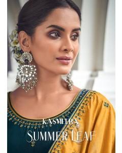 bundle of 8 salwar kameez - Summer Leaf by Kasmeera