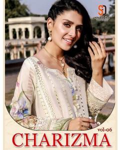 bundle of 4 salwar kameez - Charizma vol 6 by Shraddha Designer