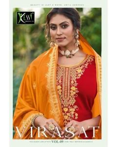bundle of 9 salwar kameez - Virasat vol 9 by Kessi Fabrics