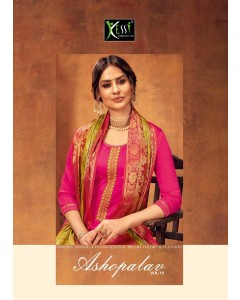 bundle of 8 salwar kameez - Aso Palav 19 by Kessi fabrics