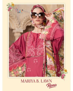 bundle of 6 salwar kameez - Mariya B Lawn Remix by Shree Fabs (cotton dupatta)