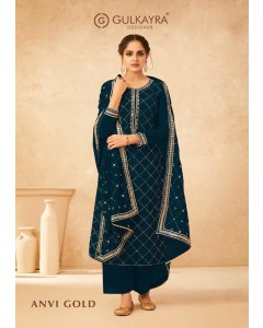 bundle of 5 salwar kameez - Anvi Gold by Gulkayra Designer