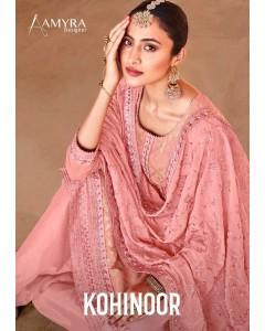 bundle of 4 salwar kameez - Kohinoor by Amyra Designer