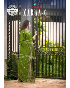 bundle of 6 salwar kameez - Zaraa vol 6 by Your Choice