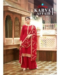 bundle of 4 salwar kameez - Karva Affair vol 1 by Your Choice