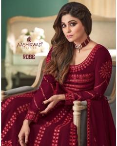 bundle of 5 salwar kameez - Rose by Aashirwad