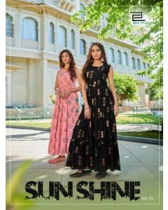 bundle of 5 kurtis - Sunshine vol 10 by Blue Hills