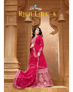 bundle of 4 salwar kameez - Rich Look vol 4 by Your Choice