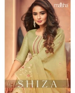 bundle of 7 readymade suits - Shiza by Maskeen