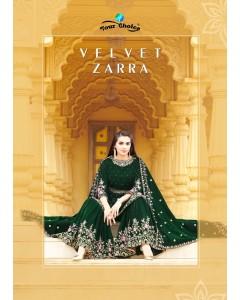 bundle of 4 salwar kameez - Velvet Zaraa by Your Choice