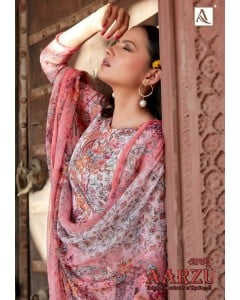 bundle of 10 dress material Aarzu by alok